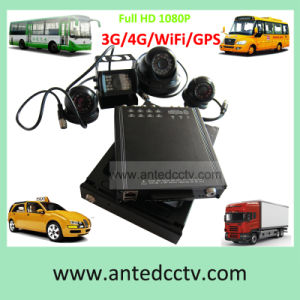 4/8 Channel School Bus Video System with GPS Tracking WiFi HD 1080P High Image Recording pictures & photos