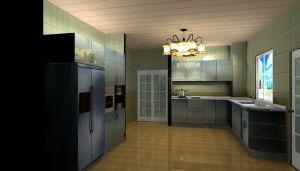 Modern Stainless Steel Kitchen Vanity (MK025)