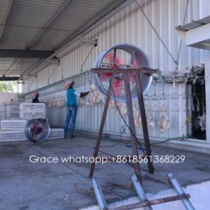 Automatic Poultry Slaughter House Equipment with Matching Steel Workshop &Cold Room Construction pictures & photos