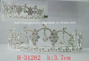Wedding Bridal Rhinestone Tiara Crown H-31282