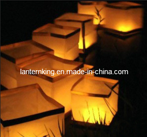 Eco-Friendly Lotus Floating Lantern (f003)