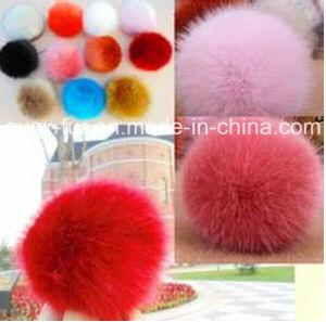 Rabbit Fur POM POM Ball pictures & photos