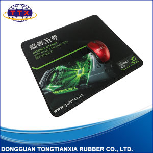 Custom Overlocking Finished Nature Rubber Game Mouse Pad pictures & photos