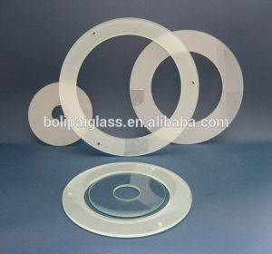 Customized Shape Tempered Frosted Glass Lamp Light Cover pictures & photos