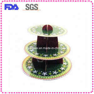 Decorative 3-Layer Paper Cake Stand for Festival CS3-2