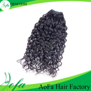Sikly and Wavy Virgin Human Hair Weaving Form Guangzhou China pictures & photos