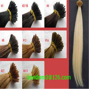 8A Grade Brazilian Virgin Human Fusion I Tip Hair Extension pictures & photos