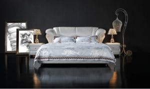 Bedroom Furniture, Leather Soft Bed pictures & photos