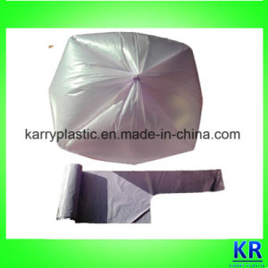 Plastic Carrier Bags with Handle on Roll pictures & photos