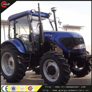100HP 4WD Farm Tractor, Tractor Price Map1004 pictures & photos