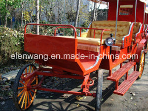 Sightseeing Horse Cart Horse Carriage (GW-HC34) pictures & photos