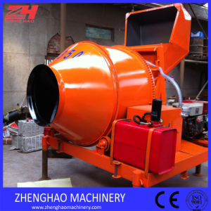 Jzr350 Portable Diesel Concrete Mixer with Drum
