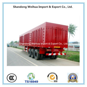 Popular Cargo Van Truck Trailer with High Quality Axles pictures & photos
