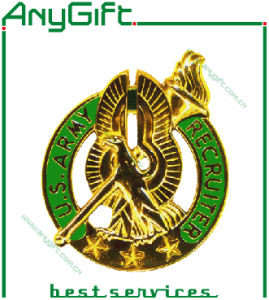 Soft Enamel Metal Pin Badge with Customized Logo and Shape pictures & photos