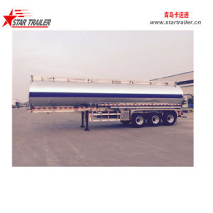 Aluminium Alloy Fuel Tank Semi Trailer pictures & photos