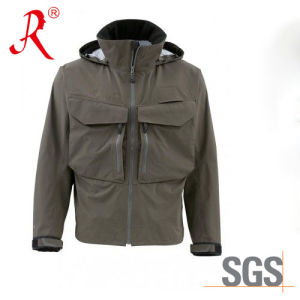 Fashion Waterproof and Breathable Fishing Jacket (QF-1856) pictures & photos