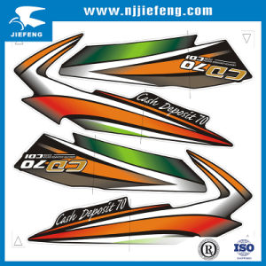Customized Free Design Motorcycle Sticker Decal pictures & photos