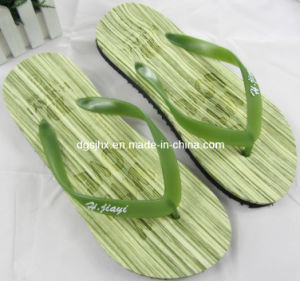 Two Layers EVA Flip Flop Slippers pictures & photos