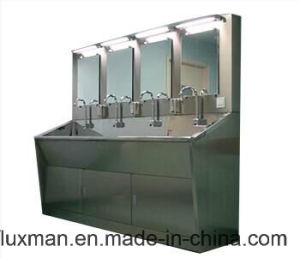 Wash Sink for Hospital and Clean Room with Sensor Faucet
