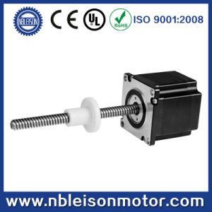 Tr8 Tr10 Brass Nut or POM NEMA 23 Lead Screw Linear Stepper Motor pictures & photos