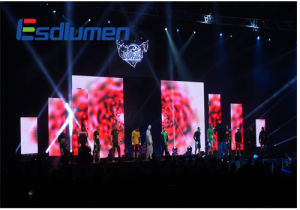 Esdlumen P6 Fullcolor Rental Outdoor LED Display Screen Sign for Stage