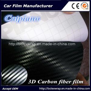 3D Carbon Fiber Car Wrap Vinyl Film, 3D Carbon Fiber Vinyl pictures & photos
