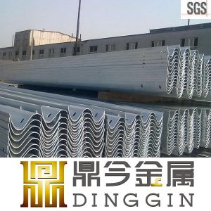 Hot DIP Galvanized Roadside Guardrail pictures & photos