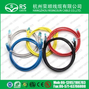 Cat5e UTP RJ45 AWG26 LSZH Network Patch Cord