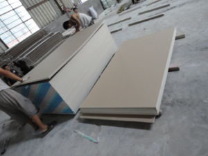 Manufacture Gypsum Board/Plaster Board /Drywall Board with Factory Price pictures & photos
