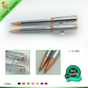 Magic Electronic Blue Metal Ballpoint Pen pictures & photos