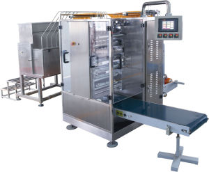 Catsup Four-Side Sealing & Multi-Line Packing Machine pictures & photos