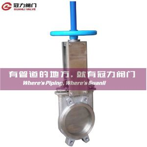 Stainless Steel Wafer Type Knife Gate Valve pictures & photos