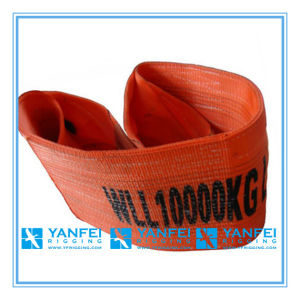 10t Polyester Webbing Sling ISO4878/En1492-1/Asme B30.9 pictures & photos
