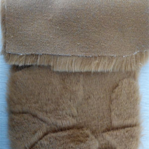 Wholesale Polyester Brushed Faux Fur Fabric Long Plush Fabric pictures & photos