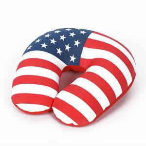 Printed Flag Travel Pillow/Bean Pillow (BQPP-13)