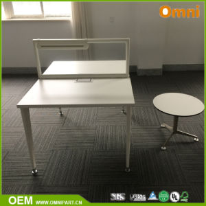 Fashionable Double Sides Office Workstation for Two Person pictures & photos