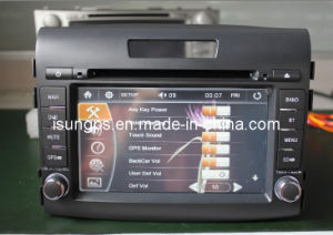 Isun 2 DIN 7 Inch 800*480 Digital Touch Screen Car Audio DVD GPS for Honda CRV 2012