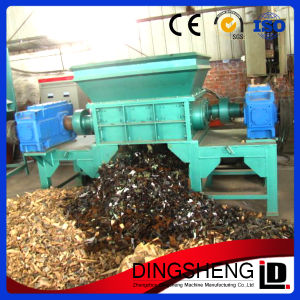 Waste Wood Pallet Shredder Machine for Sale pictures & photos