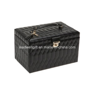 Luxury Leather Large Jewelry Box pictures & photos