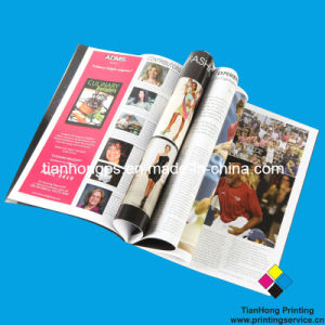 Printing Service, Soft Cover Book Printing, Magazine Printing (OEM-MG006) pictures & photos