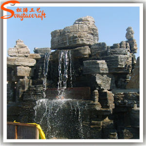 Professional Manufacturer Indoor Plastic Artificial Waterfall Fountain pictures & photos