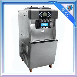 Wheel Mounted Floor Standing 2+1 Mixed Flavors Frozen Yogurt Machine pictures & photos