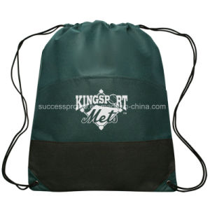 Non Woven Drawstring Bag with Customer′s Logo pictures & photos