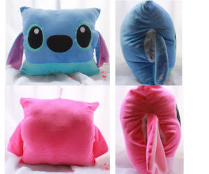 Cartoon Stitch Warm Hands Pillow (HD-PL-31)