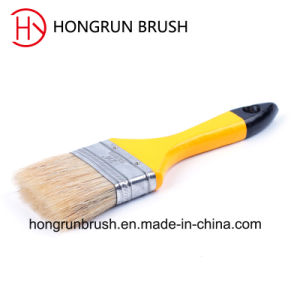 Wooden Handle Bristle Paint Brush (HYW031) pictures & photos