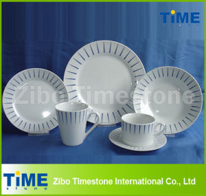 20PCS Porcelain Dinner Set with Printing-EU 17.9% Unti-Dumping Duty pictures & photos