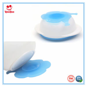 Best Baby Feeding Suction Bowl with Double-Sided Sucker pictures & photos
