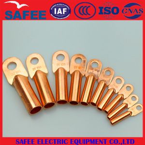 China Dt Copper Cable Lug Copper Connecting Terminals Sealed Cable Lugs - China Dt Copper Cable Lug, Cable Lug pictures & photos