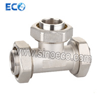 Brass Reduced Tee Bite Type Fittings for Pex-Al-Pex Pipe pictures & photos