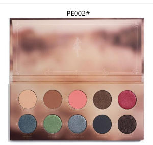 Zoeva 10 Color/PCS Makeup Eyeshadow Palette Pearly Lustre Mixed Metals Cocoa Blend Rose Cosmetic Eye Shadow pictures & photos